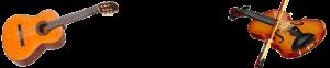 gitarr och fiol på Södermalm